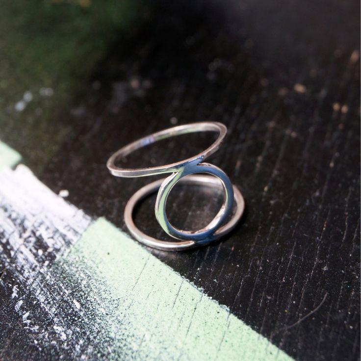 Наконец обновил ассортимент в магазине @svoyapolka.artplay Это кольцо тоже там. Если хотите себе такое пишите в Директ, все изделия из серебра 925