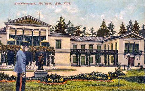 Bad Ischl Kaiserliche Villa Elisabeth of Austria (1854