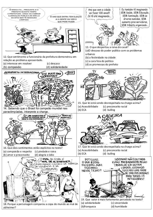 Atividades Interpretacao Interdisciplina Sociedade Sociologia