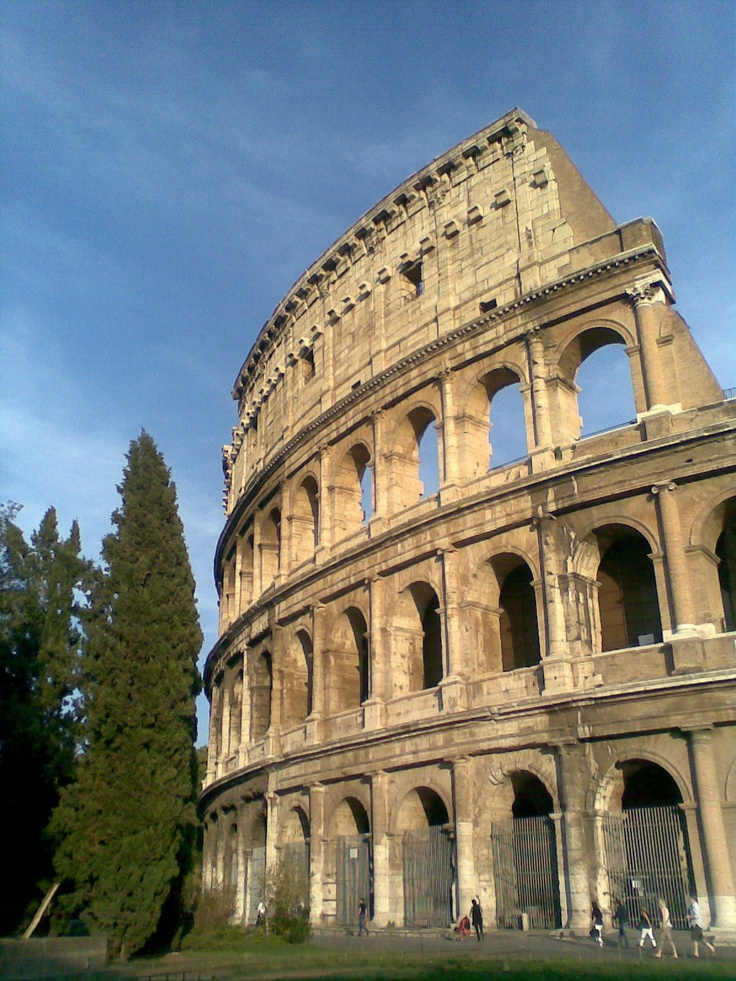 Colosseum in Rome, Italy, September 2012. Photo by Sonja Salt