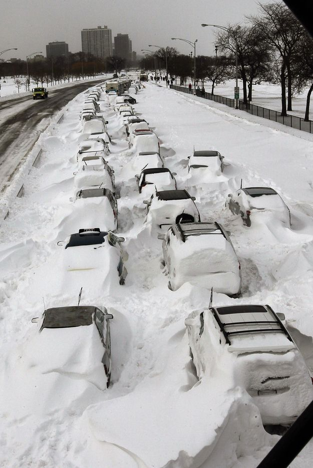 Being stranded on Lakeshore Drive during a blizzard. | 28 Things You're Only Afraid Of If You Live In Chicago