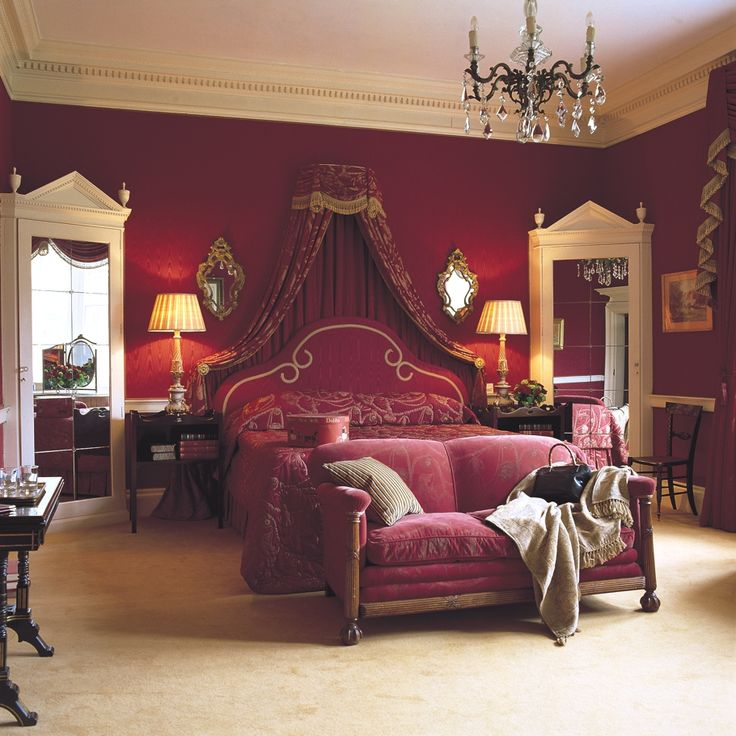 Beautiful Brocket Hall, Lemsford, Hertfordshire, England, UK - this was Queen Victoria's favourite room
