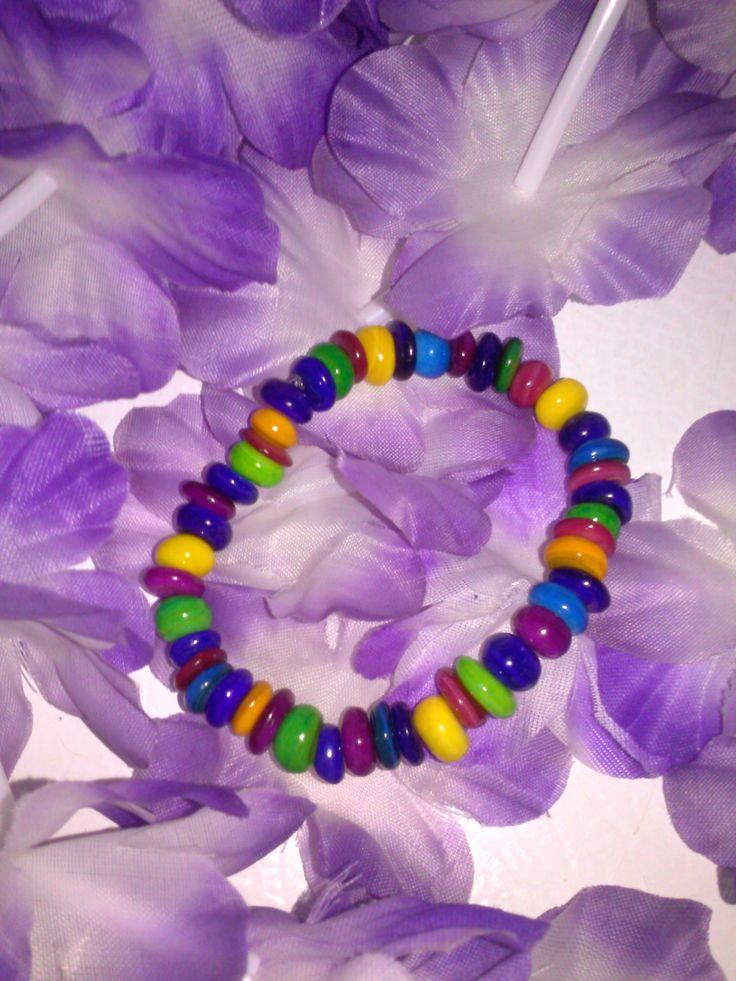 Skittles bracelet
