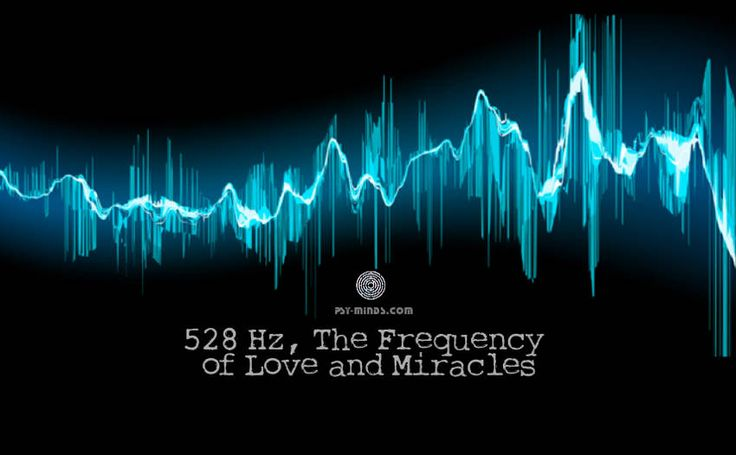 528 Hz The Frequency of Love and Miracles - via @psyminds17