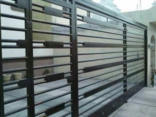 14 best puertas de cochera images on pinterest entrance - Herreria ark ...