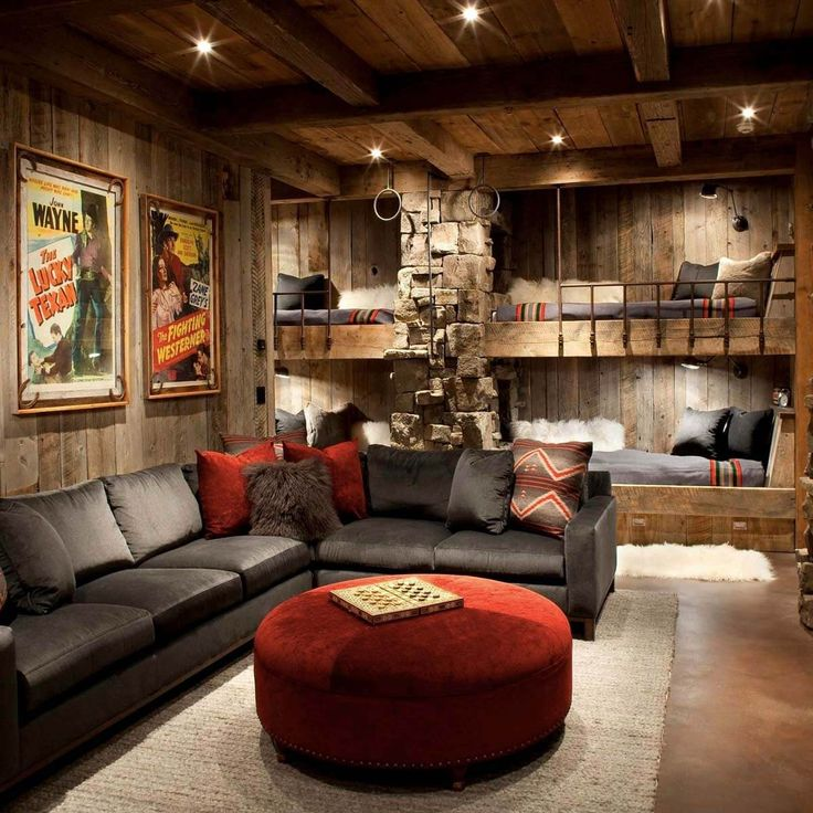 It doesn't matter what sport you prefer, when you sit down to watch the big game, you want to do it in style. If you're thinking of building your own man cave, here are 15 awesome ideas for inspiration.