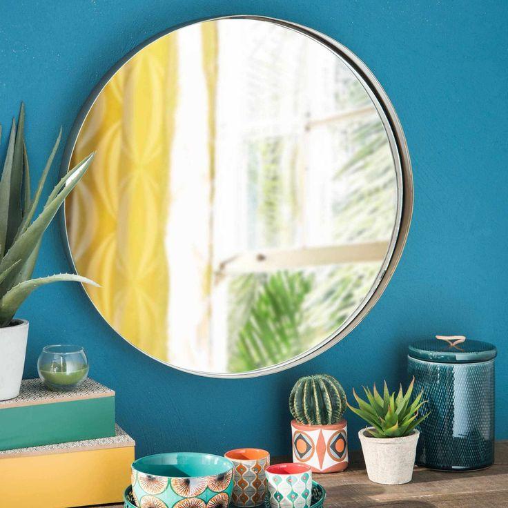 round copper metal mirror D 51 cm | Maisons du Monde