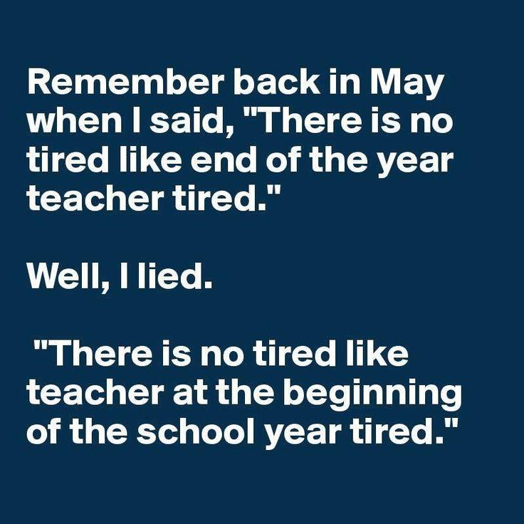 Funny Teacher Quotes: Teacher Humor, Teacher Tired