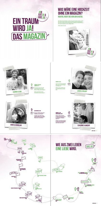 Jan, Katja und das Ja, ein Thema das über die Hochzeitszeitung hinausgeht. Wie ihr auch so einen schöne Zeitung oder Hochzeitseinladung gestaltet seht ihr auf www.jilster.de #DIY #Zeitung