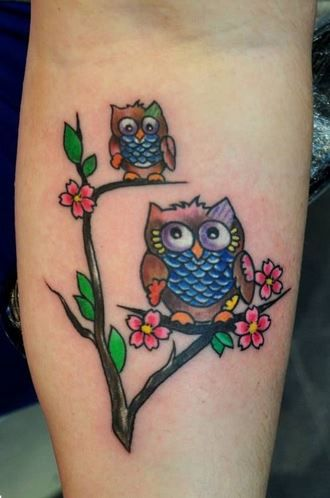 owl tattoo 14