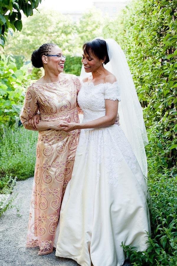 Bride's mom's dress