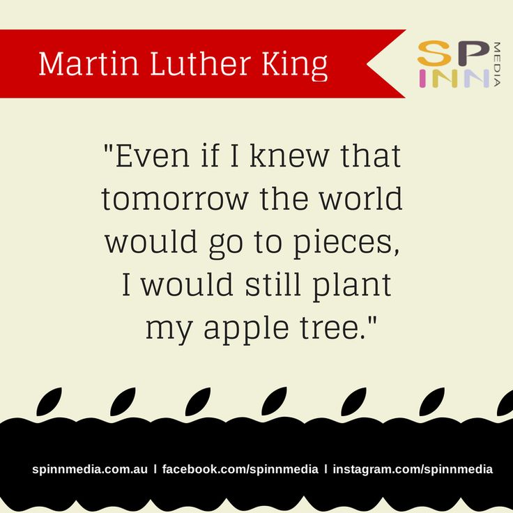 We see optimism & perseverance in this quote from Martin Luther King. #QuotableQuotes
