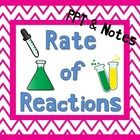 This is a PowerPoint that covers the different factors that affect the rate of chemical reactions. Perfect add-in for your Chemistry unit!  I expla...