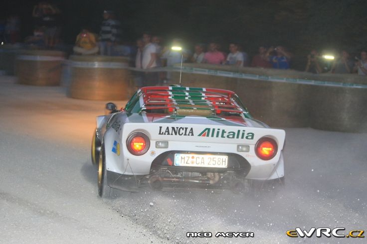 Claus Aulenbacher; Andreas Mirow; Lancia Stratos HF; Rallylegend 2014