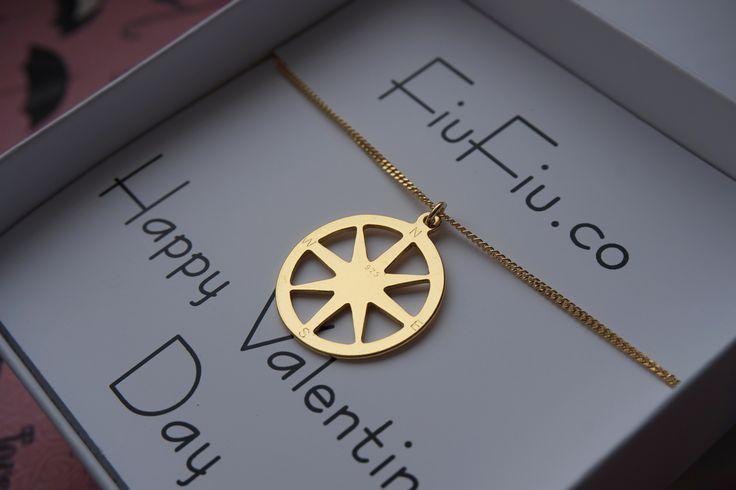 pl.dawanda.com/shop/FiuFiu-co#jewellery #fiufiu #srebro #srebro925 #różawiatrów #windrose #kompas