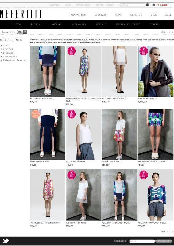 New at shopnefertiti.com.