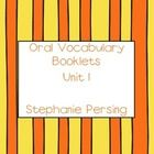 These vocabulary booklets coordinate with Unit 1 of the First Grade Treasures Reading Series. There is a page to do each day. The word and the defi...