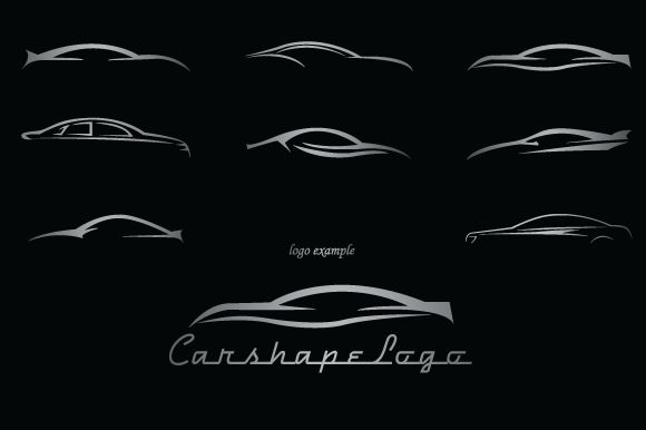 Check out Car Shapes For Logos by lovepower on Creative Market