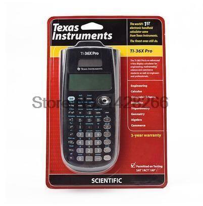 [Visit to Buy] 2016 Texas Instruments New Original Ti-36x Pro Scientific Calculator Hot Sale Graphic Calculatrice Calculadora Free Shipping #Advertisement