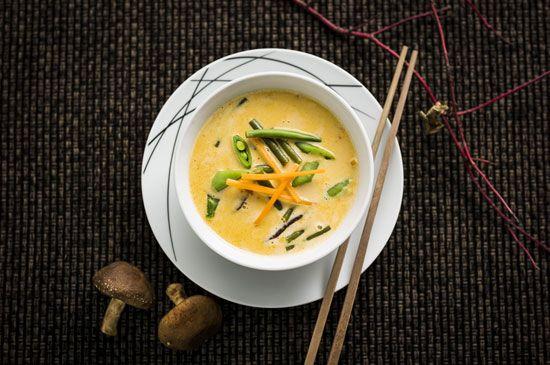 Thai curry grønsaksuppe