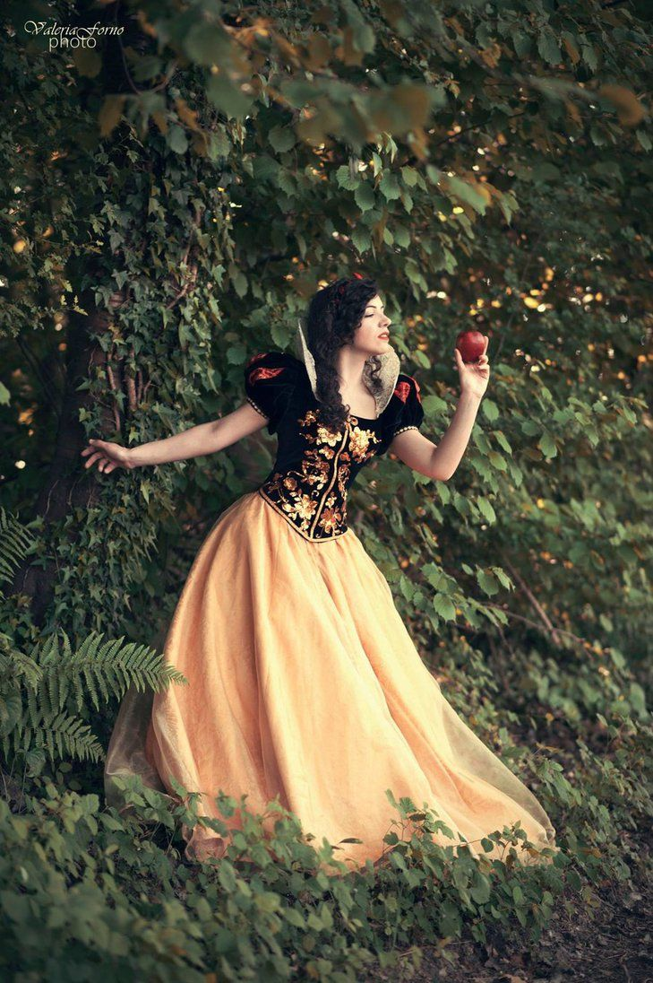 Snow White cosplay: alone in the woods by Marivel87.deviantart.com on @DeviantArt