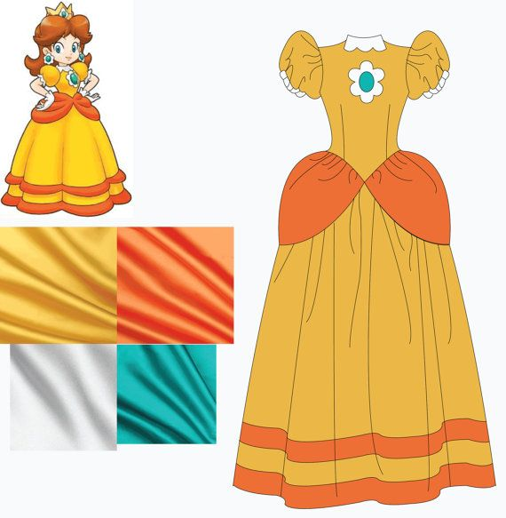 48 best Daisy images on Pinterest | Princess daisy, Costumes and ...