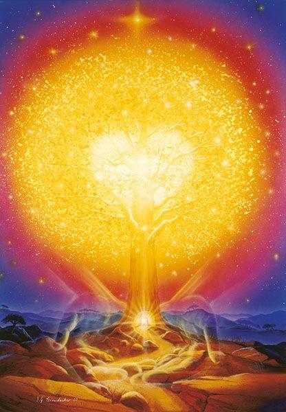 The Tree of Eternal Life by Hans Georg Leiendecker http://www.leiendecker.com/cat/index/sCategory/52