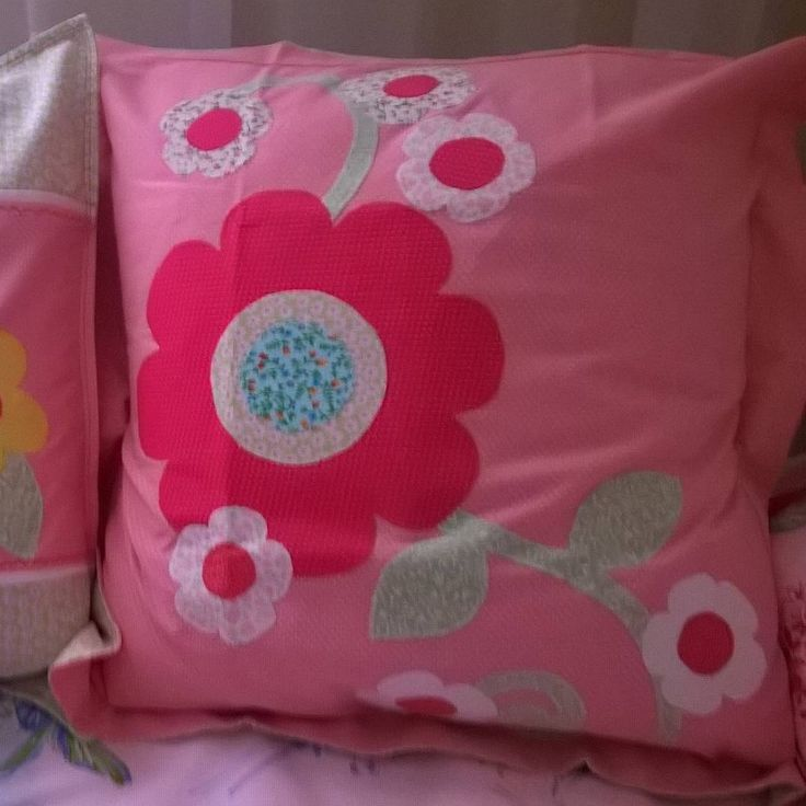 Pillow cover.