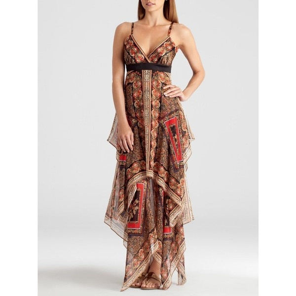 GUESS by Marciano Gypsy Scarf Maxi Dress