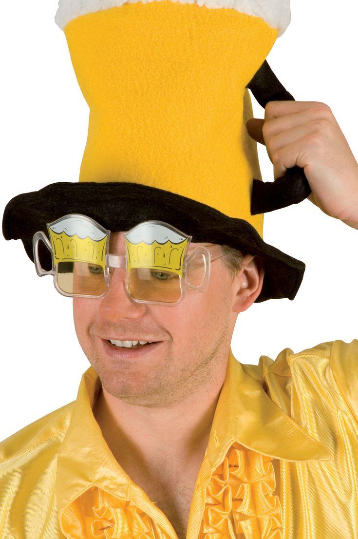 Gafas de jarras de cerveza para aficionado adulto : Vegaoo, compra de Accesorios. Disponible en www.vegaoo.es