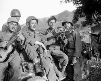 Sons of Puerto Rico Picture at U.S. Military Photo Store