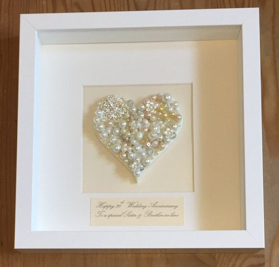 30th Pearl Wedding Anniversary Gift By Lovetwilightsparkles