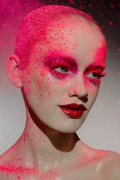 .Pink Red Lady