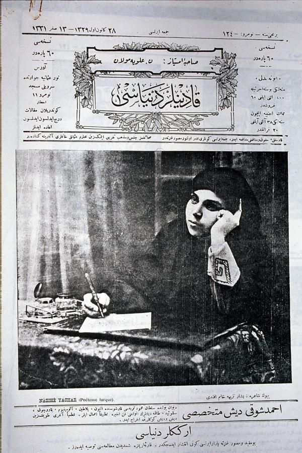 1 Mayıs İşçi ve Emekçiler bayramı için ilk Türkçe şiiri yazan kadın şair: Yaşar Nezihe