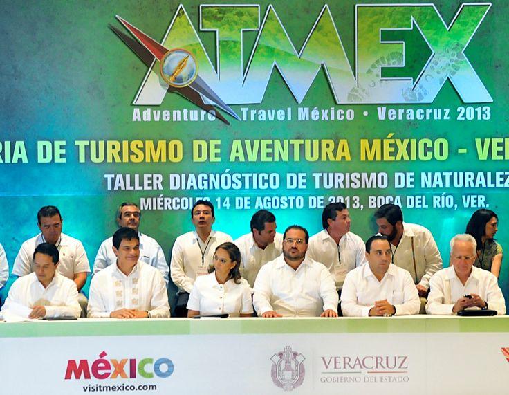 Durante la inauguración de la segunda edición de la Feria Internacional Adventure Travel México (ATMEX 2013) y el Taller de Diagnóstico de Aventura, el gobernador Javier Duarte de Ochoa aseguró que la Feria Internacional de Turismo de Aventura Veracruz 2013 es una oportunidad para consolidar a nuestro estado como destino favorito de turismo de naturaleza.