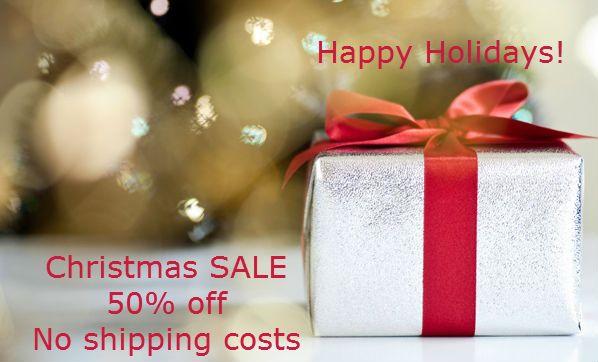 Γιορτινές ΕΚΠΤΩΣΕΙΣ 50% και ΔΩΡΕΑΝ αποστολή - SALE 50% with no shipping costs  http://eepurl.com/-mz1z     http://www.mumusyros.gr/home.html