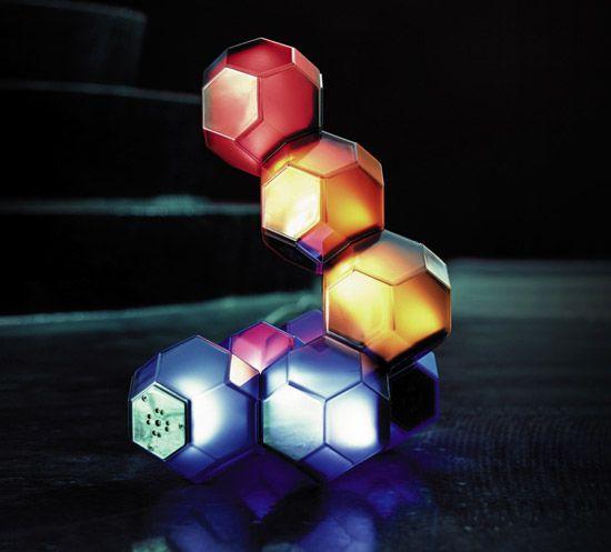 Crystal LED Modular Lamp