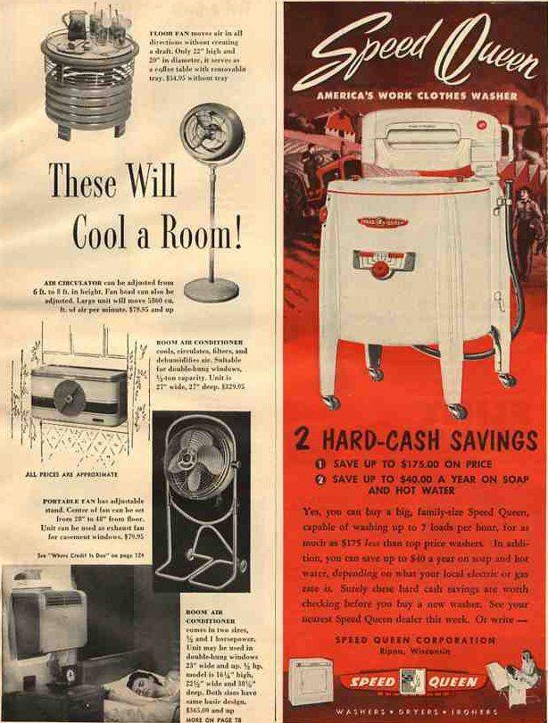Oh my!: 1950S Kitchens, Galleries, Built In, Oldtim Washer, 1950 S Kitchens, Retro Kitchens