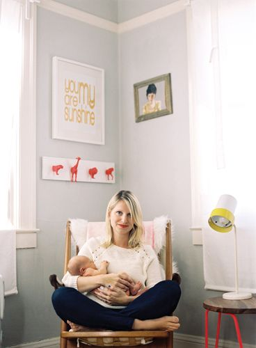 Happy French Gang Cloudy Blanket is on Pregnancy & new born mag // Bonded by motherhood: Liz Stanley