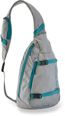 """Patagonia Atom Sling inDrifter Grey.  My favorite new """"purse"""".  Incredibly well designed.  From REI."""