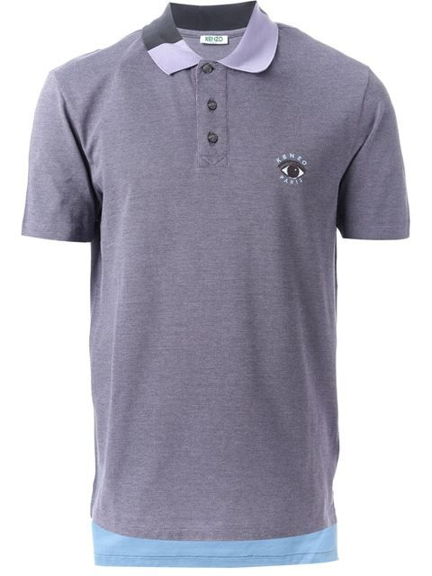 Shop Kenzo embroidered eye polo shirt in O' from the world's best independent boutiques at farfetch.com. Over 1000 designers from 60 boutiques in one website.