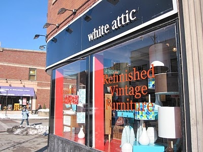 Refinished furniture for all of your modern vintage design needs. At White Attic. #Andersonville