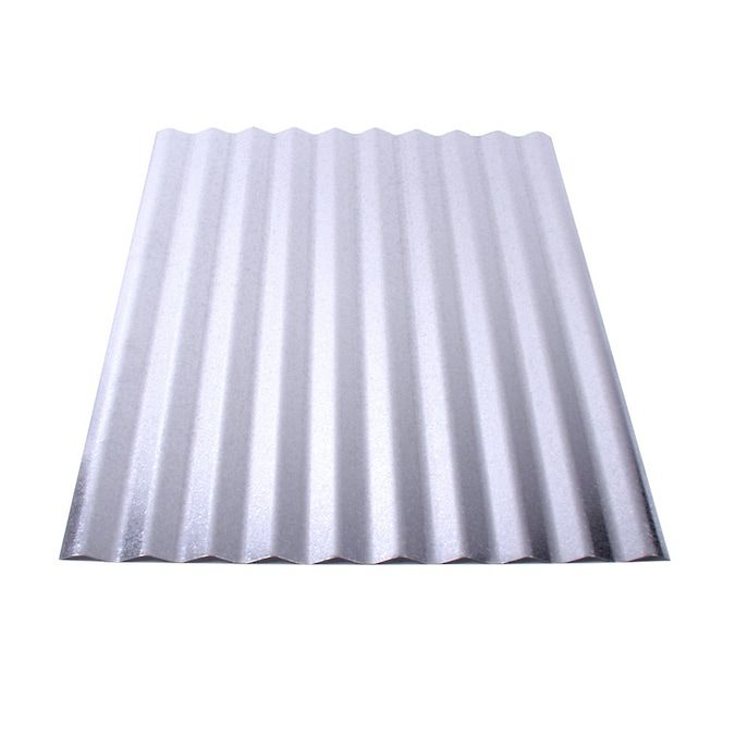 Union Corrugating 2 16 Ft X 8 Ft Corrugated Silver Steel Roof Panel Lowes Com In 2020 Steel Roof Panels Corrugated Metal Roof Metal Roof Panels