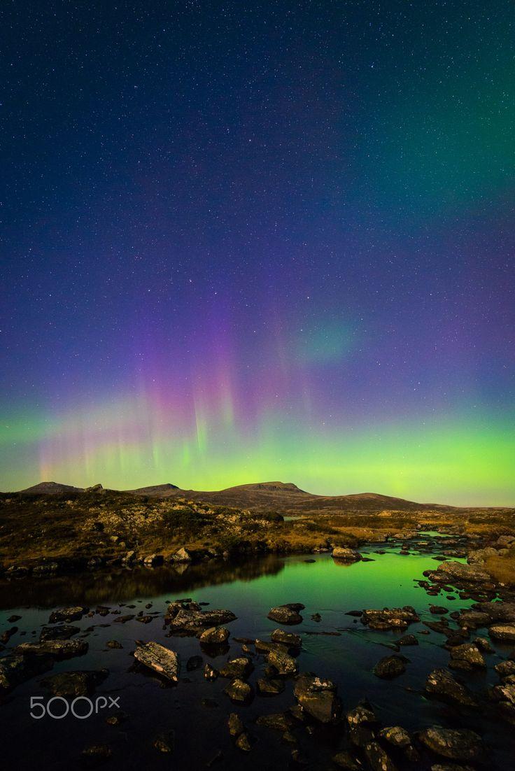 Northern lights - Taken in Gudbrandsdalen, Norway