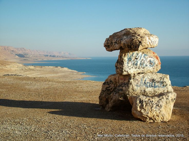Fotos do Mar Morto - Cafetorah - Notícias de Israel