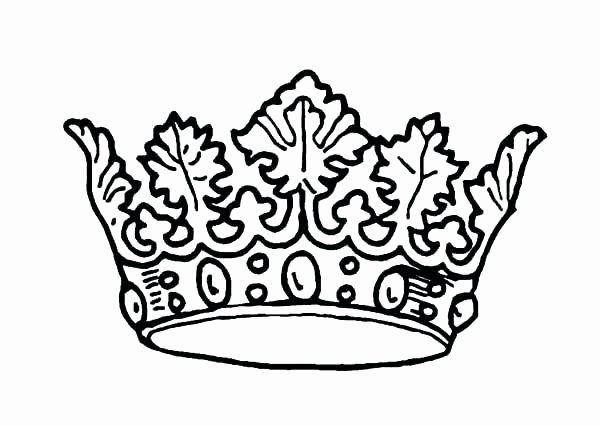 Tiara Coloring Pages To Print