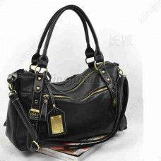 Muodikas Tote-laukku, musta