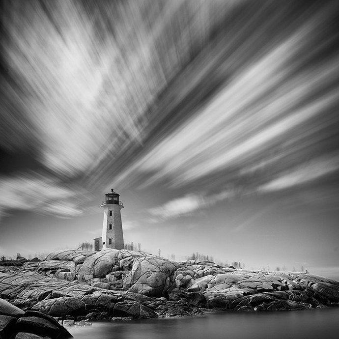 Lighthouse, Peggy's Cove, Nova Scotia - Fine Art Photograph, Travel Photography, Nova Scotia, Atlantic Canada, Gift by Mark McCarvill Photography, $30.00 CAD