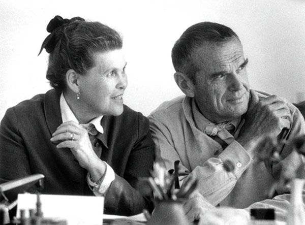 Charles and Ray Eames - Estadounidenses