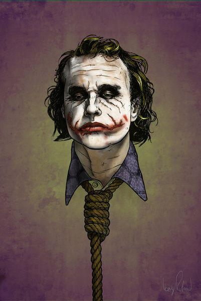 Now I'm Always Smiling   The Dark Knight  by Boy Roland